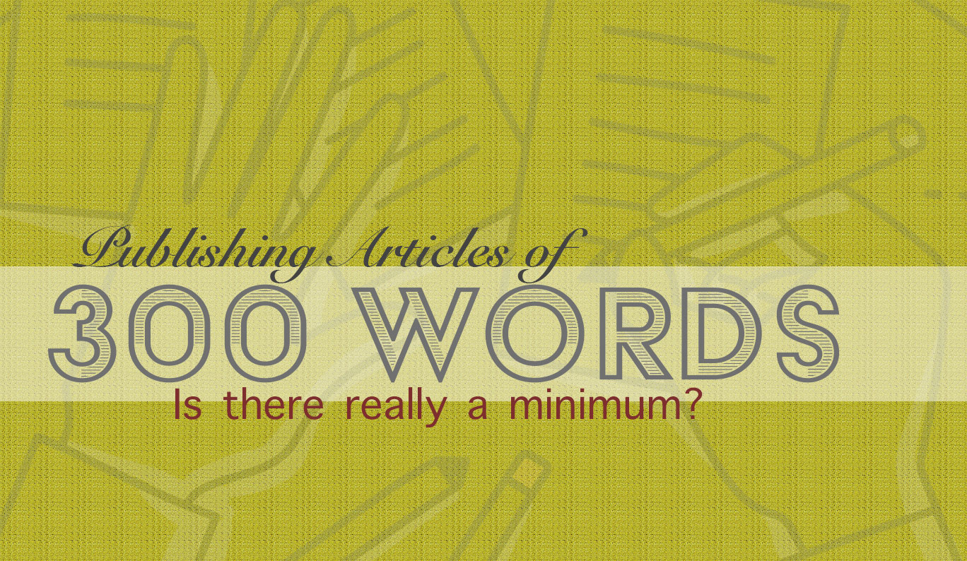Content writing of 300 word articles