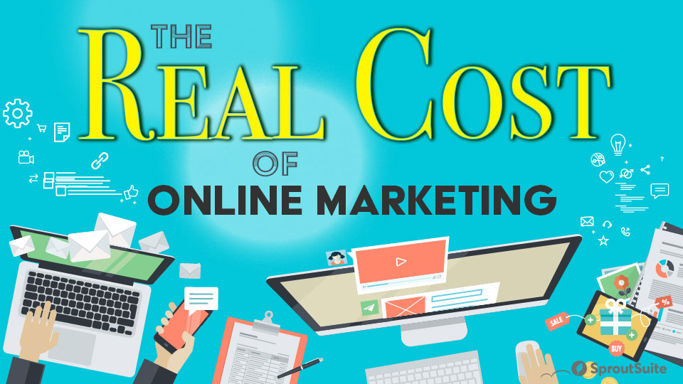 What is the real cost of running online marketing today?